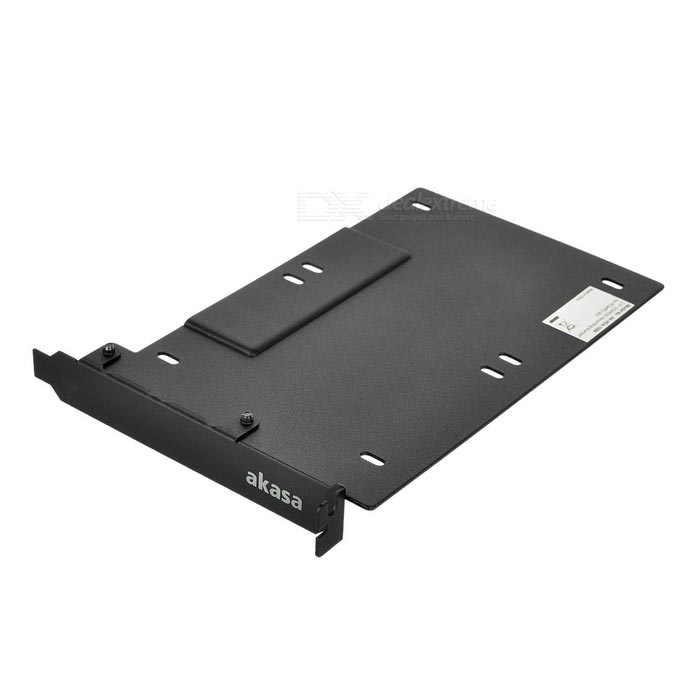 "AKasa 2.5"" SSD / HDD Mounting Bracket for PCIe / PCI Slot - Black"