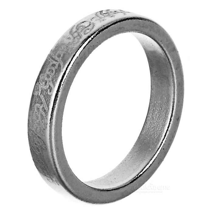 Mini Magic Magnetic Finger Ring - Silver (S)Magic Supplies<br>Form ColorSilverMaterialMagnetQuantity1 DX.PCM.Model.AttributeModel.UnitSuitable Age 12-15 years,Grown upsPacking List1 x Ring<br>