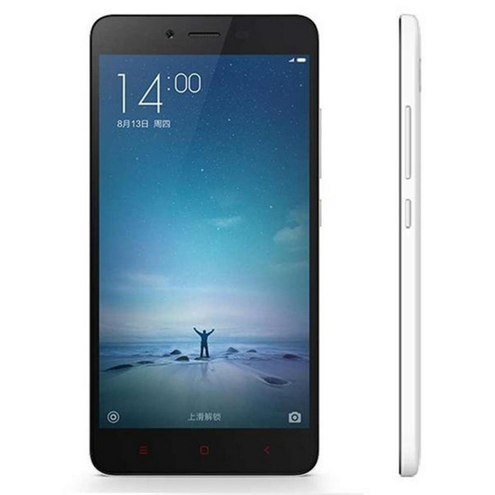Xiaomi Redmi Note 2 Android 5.0 4G Phone w/ 2GB RAM, 32GB ROM - WhiteAndroid Phones<br>Form  ColorWhite + Black RAM2GBROM32GBBrandXiaomiModelRedmi Note 2Quantity1 DX.PCM.Model.AttributeModel.UnitMaterialIPS + ABSShade Of ColorWhiteTypeBrand NewPower AdapterUS PlugsHousing Case MaterialABSNetwork Type2G,3G,4GBand Details2G: GSM B2/3/8; 3G: WCDMA B1/2/5/8; 3G: TD-SCDMA B34/39; 4G: TD-LTE B38/39/40/41; 4G: FDD-LTE B1/3/7Data TransferGPRS,HSDPA,EDGE,LTENetwork ConversationOne-Party Conversation OnlyWLAN Wi-Fi 802.11 a,b,g,n,acSIM Card TypeMicro SIM,Nano SIMSIM Card Quantity2Network StandbyDual Network StandbyGPSYesInfrared PortYesBluetooth VersionBluetooth V4.0Operating SystemAndroid 5.0CPU ProcessorMTK Helio X10 2.0GHzCPU Core QuantityOcta-CoreLanguageSimplified Chinese, Traditional Chinese, German, Indonesian, Malay, English, Spanish, French, Italian, Hungarian, Dutch, Portuguese, Romanian, Vietnamese, Russian, Turkish, Greek, Hebrew, Arabic, Thai, KoreanGPUPowerVR G6200Available MemoryN/AMemory CardMicroSDMax. Expansion Supported32GBSize Range5.5 inches &amp; OverTouch Screen TypeCapacitive ScreenScreen Resolution1920*1080Screen Size ( inches)5.5Camera Pixel13.0MPFront Camera Pixels5.0 DX.PCM.Model.AttributeModel.UnitFlashYesTalk Time900~1380 DX.PCM.Model.AttributeModel.UnitStandby Time680~750 DX.PCM.Model.AttributeModel.UnitBattery Capacity3060 DX.PCM.Model.AttributeModel.UnitBattery ModeNon-removablefeaturesWi-Fi,GPS,Bluetooth,OTGSensorG-sensor,Proximity,CompassWaterproof LevelIPX0 (Not Protected)I/O InterfaceMicro USB,3.5mmUSBMicro USB v2.0Format SupportedMP3/WAV/OGG/MID/AMR/MP4/3GP/M4A/RM/RMVB/WMV/JPEG/PNG/GIF/BMP/JAVAYesTV TunerNoPacking List1 x Cellphone1 x Data cable (115cm)1 x Conversion head (EU  plug)1 x US plug power adapter (100~240V)<br>