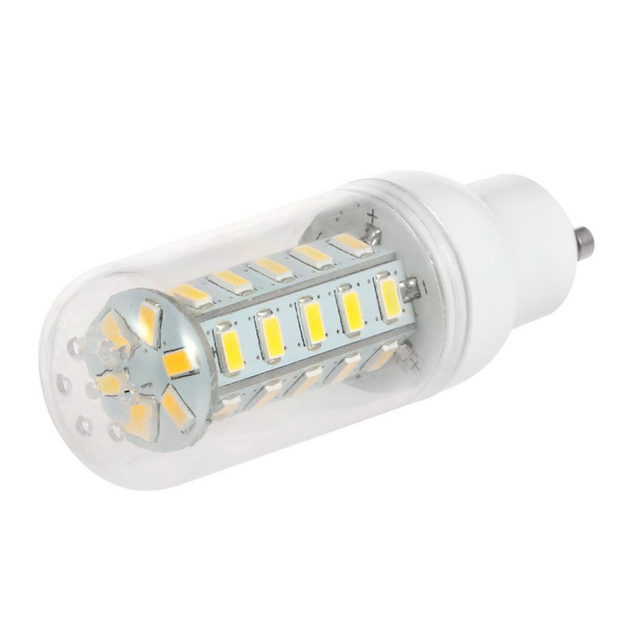 GU10 3.5W LED Corn Bulb Lamp Warm White Light 3500K 350lm 36-SMD 5730