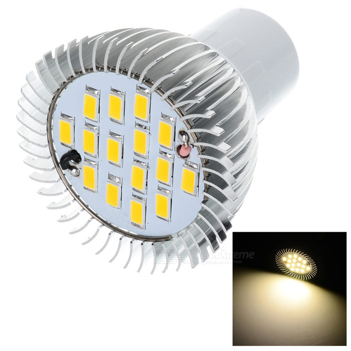 LeXing Lighting Dimmable MR16(G5.3) 6W LED Spotlight Warm White 15-SMD