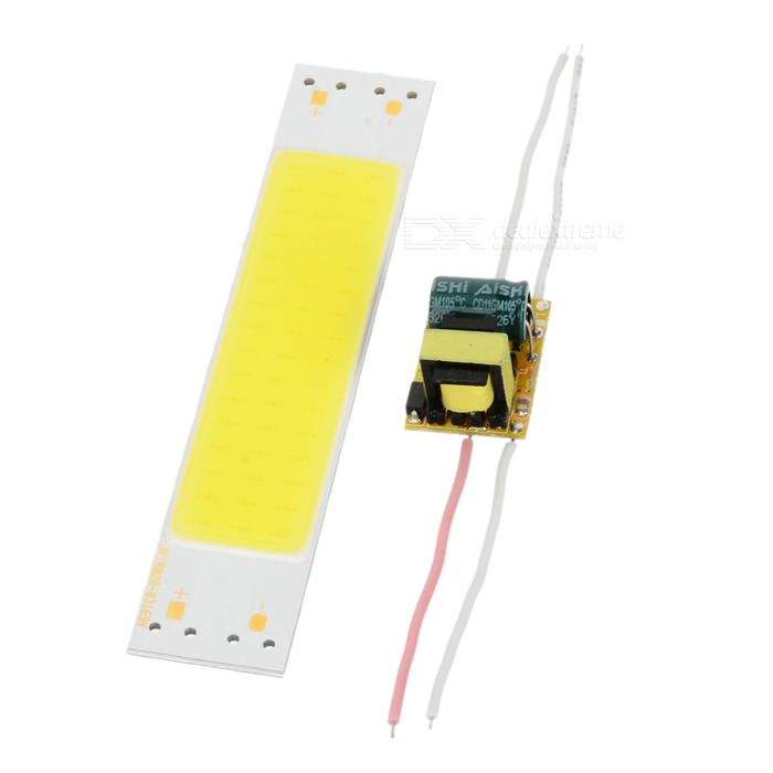 4W 48-COB LED Light Module Cold White 400lm w/ Dimmable Power Supply