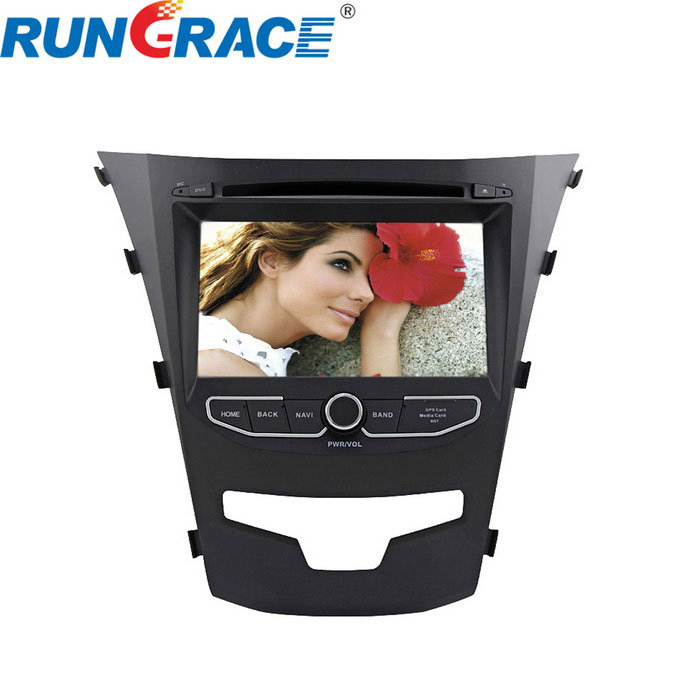 "Rungrace Android 7"" Car DVD Player w/ DVB-T for Ssangyong Korando"