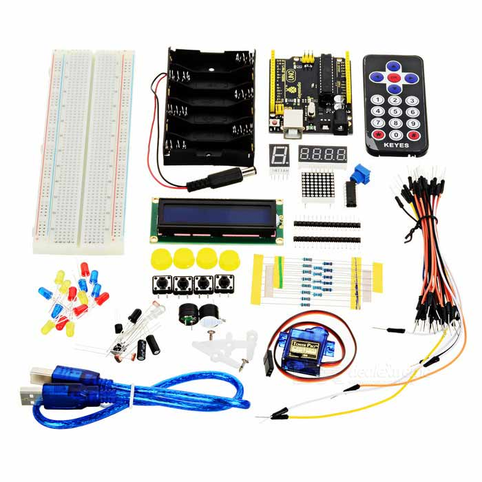 Keyestudio Basic Starter Kit for UNO (UNO R3 Included)