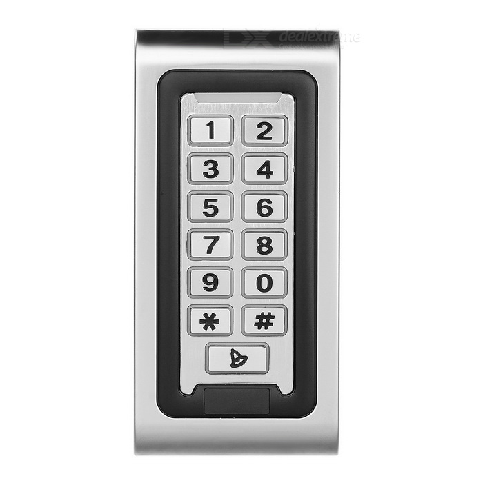 Password Integration Access Control - Silver + Grey