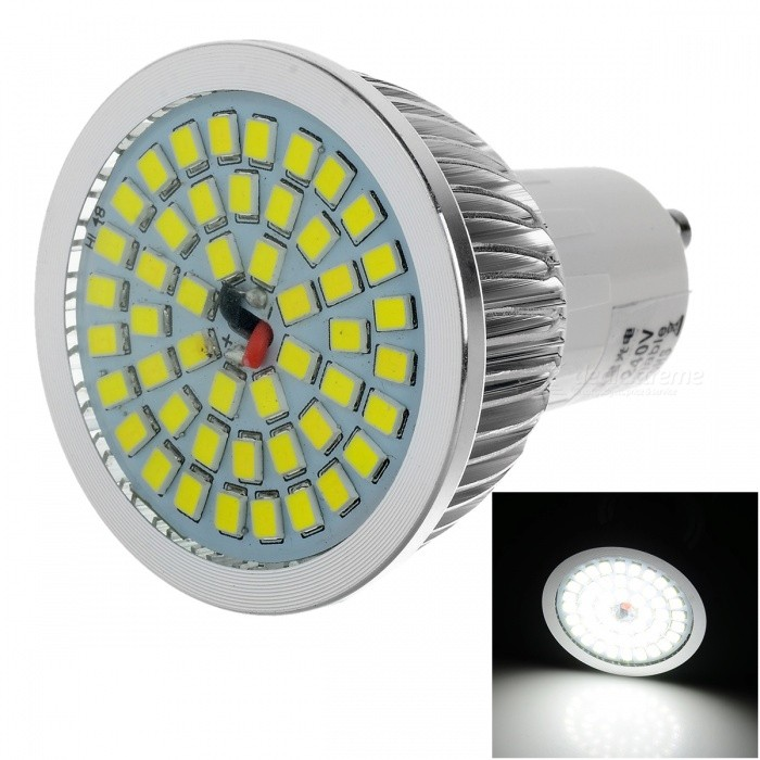 LeXing Lighting GU10 7W Dimmable LED Spotlight Bulb Cold White 48-SMDGU10<br>Form  ColorWhite + SilverColor BINCold WhiteMaterialAluminum + plastic + glassQuantity1 setPowerOthers,0~7WRated VoltageAC 220-240 VConnector TypeGU10Theoretical Lumens0~800 lumensActual Lumens0~600 lumensChip BrandOthersEmitter TypeOthers,2835 SMD LEDTotal Emitters48Color Temperature12000K,Others,6500~7000KDimmableYesBeam Angle120 °CertificationCE, RoHSColor BINCool WhitePacking List1 x Bulb<br>