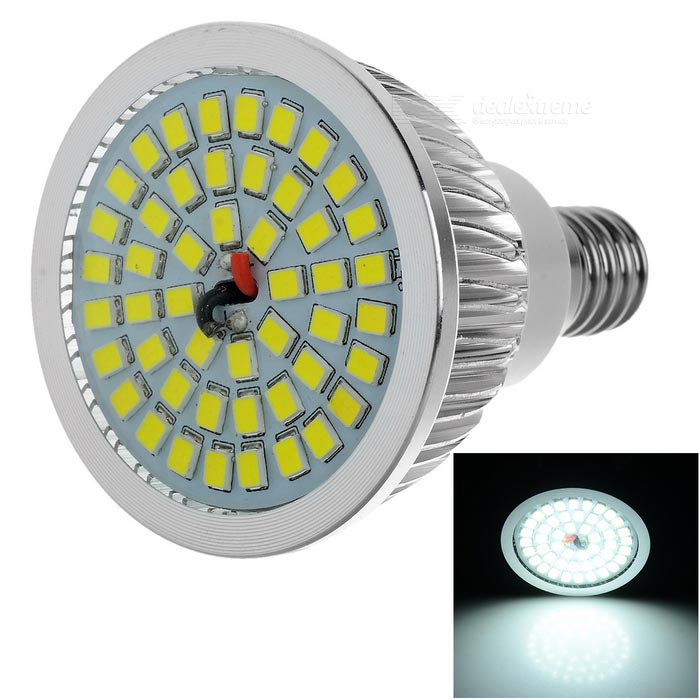 Lexing Dimmer E14 7W LED Spotlight Cold White/Warm White  600lm 8-SMD 2835---White + Silve