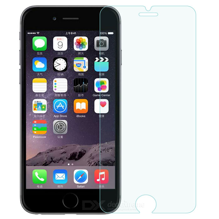 9H Tempered Glass Screen Protector for IPHONE 6S - Transparent
