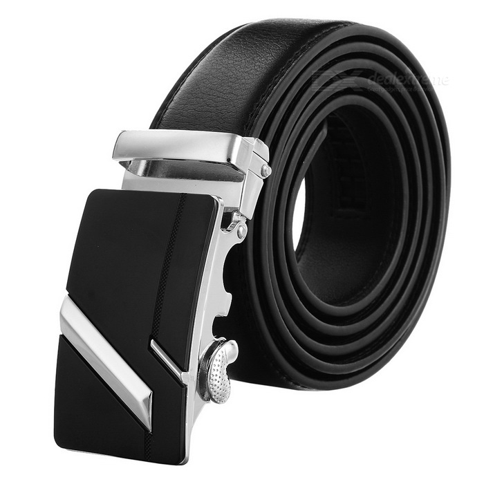 Mens-Split-Leather-Belt-w-Zinc-Alloy-Buckle
