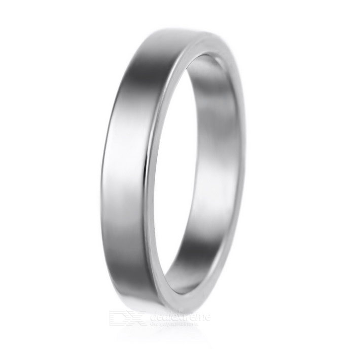 Magic Trick Prop Magnetic Ring - Silver (M)