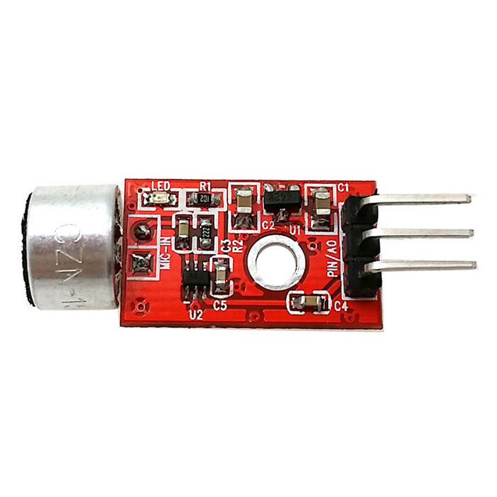 MAX9812 Microphone Amplifier Module - ...