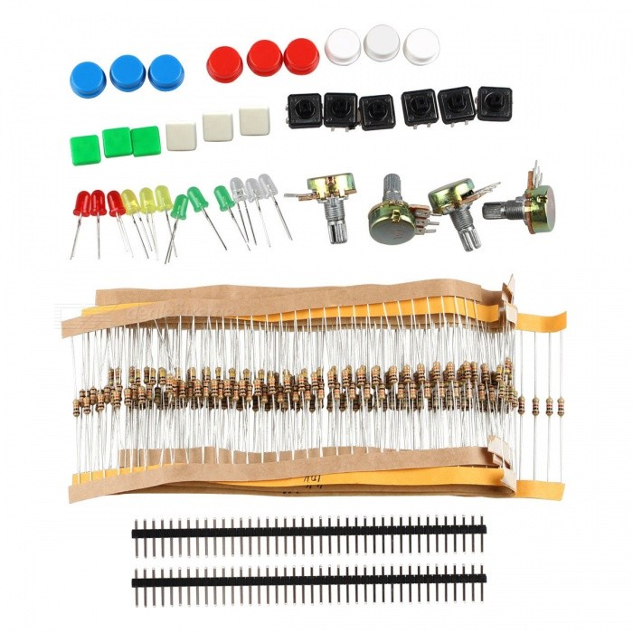 Buy DIY Electronic Components Kit for Arduino with Litecoins with Free Shipping on Gipsybee.com