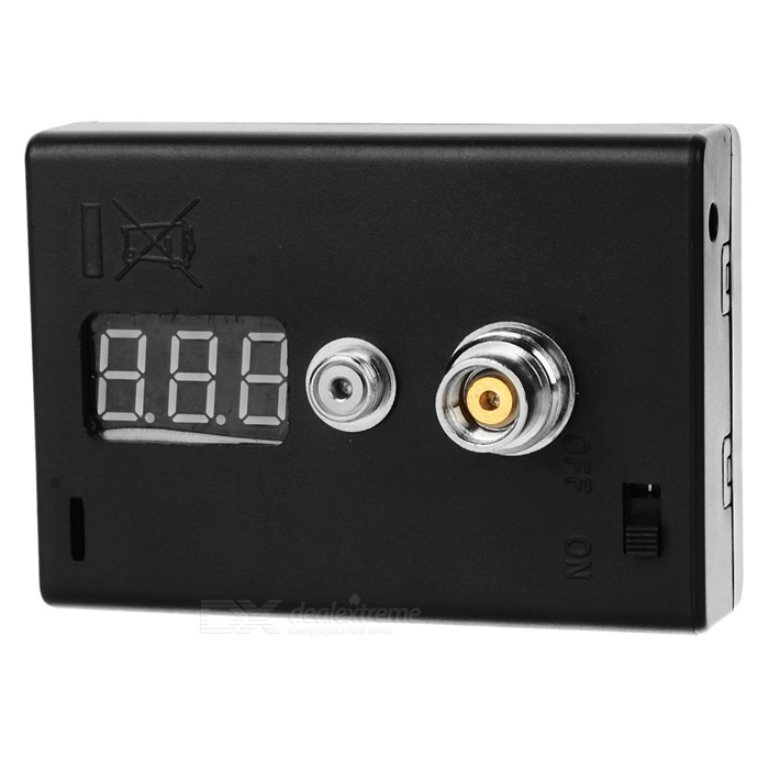Buy Digital VoltMeter ohm Reader Atomizer Resistance Tester - Black with Litecoins with Free Shipping on Gipsybee.com