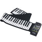 88-Key-Electronic-Silicone-Flexible-Roll-Up-Piano-Keyboard-Black