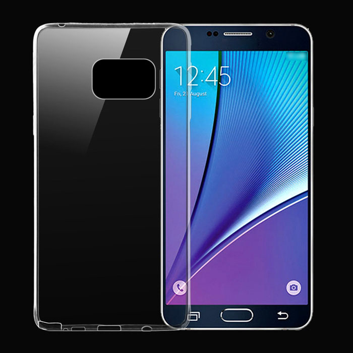 Ultra-Thin TPU Back Case for Samsung Galaxy Note 5 - Transparent