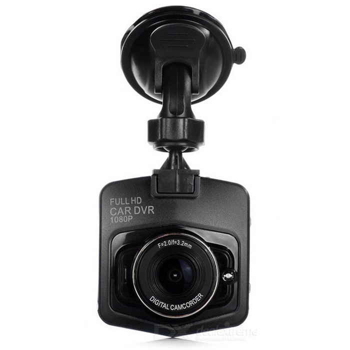 2.3quot TFT 1080P 170quot Wide-Angle IR Night Vision Car DVR w/ LED