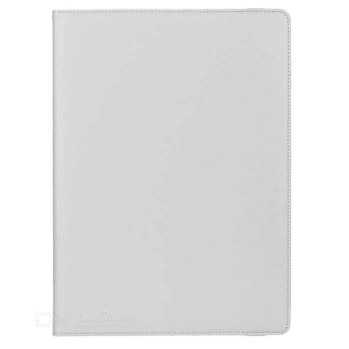 Lychee Pattern 360 Rotary Case for IPAD PRO 12.9 - WhiteIpad Cases<br>Form ColorWhiteQuantity1 DX.PCM.Model.AttributeModel.UnitMaterialPU LeatherShade Of ColorWhiteCompatible ModelsOthers,IPAD PRODesignSolid Color,With Stand,Lichee PatternTypeCases with Stand,Leather CasesAuto Wake-up / SleepYesPacking List1 x Case<br>