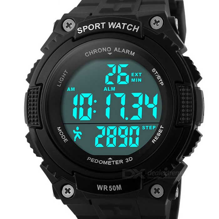 SKMEI 1112 50m Waterproof Outdoor Sports Wrist Watch