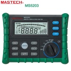MASTECH MS5203 10Gohm 1000V isolamento digitale resistenza multimetro