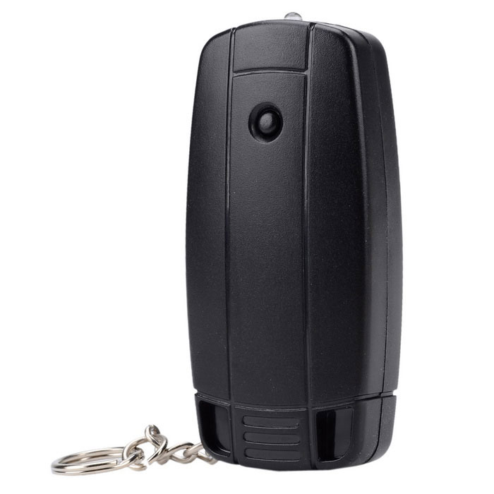 N760 Environmental USB Powered Lighter w/ Flashlight - Black