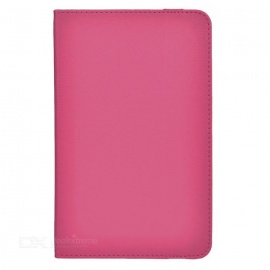 """Protective Full Body Case Cover w/ Stand for 7"""" Tablet PC - Deep Pink"""