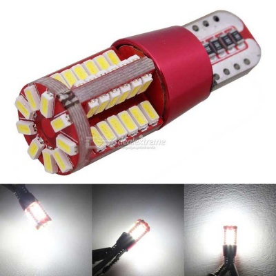MZ 5W T10 5W White 57-SMD LED Car Decode Canbus Clearance Lamp (12V)
