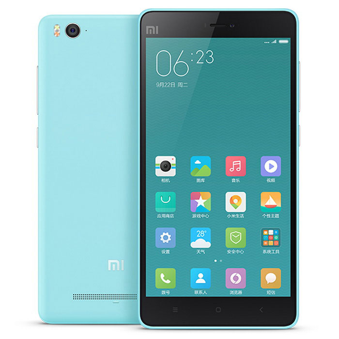 Buy Xiaomi 4C Android 5.1 Hexa-Core Phone w/ 3GB RAM, 32GB ROM - Blue with Litecoins with Free Shipping on Gipsybee.com