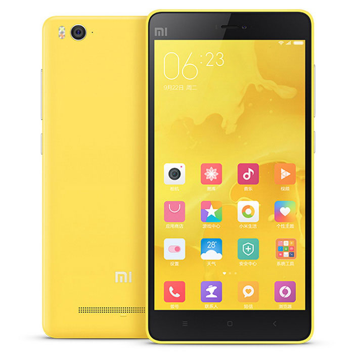 Xiaomi 4C Android 5.1 Hexa-Core Phone w/ 3GB RAM, 32GB ROM - YellowAndroid Phones<br>Form  ColorYellowRAM3GBROM32GBBrandXiaomiModel4CQuantity1 pieceMaterialTFT material (IPS)Shade Of ColorPinkTypeBrand NewPower AdapterUS PlugsHousing Case MaterialABSNetwork Type2G,3G,4GBand Details2G: GSM B2/3/5/8(GSM 850/900/1800/1900MHz) 3G: WCDMA B1/2/5/8(850/900/1900/2100MHz )  4G: FDD-LTE B1/3/7(1800/2100/2600MHz)Data TransferGPRS,HSDPA,EDGE,LTE,HSUPANetwork ConversationOne-Party Conversation OnlyWLAN Others,IEEE 802.11 a/b/g/n/acSIM Card TypeMicro SIMSIM Card Quantity2Network StandbyDual Network StandbyGPSYesInfrared PortYesBluetooth VersionOthers,V4.1 HIDOperating SystemAndroid 5.1CPU ProcessorQualcomm Snapdragon 808  1.8GHZCPU Core QuantityOthers,Hexa-CoreLanguageSimplified Chinese, Traditional Chinese, German, Indonesian, Malay, English, Spanish, French, Italian, Hungarian, Dutch, Portuguese, Romanian, Vietnamese, Russian, Turkish, Greek, Hebrew, Arabic, Thai, KoreanGPUAdreno 418Available MemoryN/ASize Range5.0~5.4 inchesTouch Screen TypeCapacitive ScreenScreen Resolution1920*1080Screen Size ( inches)5.0Camera Pixel13.0MPFront Camera Pixels5.0 MPVideo Recording Resolution1080p (1920 x 1080, 30 frames per second)FlashYesAuto FocusYesTalk Time8-12 hourStandby Time150-180 hourBattery Capacity3080 mAhBattery ModeNon-removablefeaturesWi-Fi,GPS,FM,Bluetooth,OTGSensorG-sensor,Proximity,Compass,Others,light sensor, gyroscope, hall sensors,Waterproof LevelIPX0 (Not Protected)I/O InterfaceMicro USB,3.5mmUSBMicro USB v2.0SoftwareStopwatch, calculator, alarm clock, calendar, flashlight, tape recorder, theme pattern, radio, compass, you are the one pattern, high-speed mode, cross-border find the netFormat SupportedAAC/MP3/WMA/AMR/FLAC/APE/PCM/AAC+/eAAC+/DSD/WAV/MP4/M4V/MKV/VIDX/XDID/ASF/H.265/HEVC/H.264/MPEG4/VC-1/PEG/PNG/GIF/BMPJAVAYesTV TunerNoRadio TunerFMReference Websites== Will this mobile phone work with a certain mobile carrier of yours? ==Packing List1 x Cellphone1 x Data cable