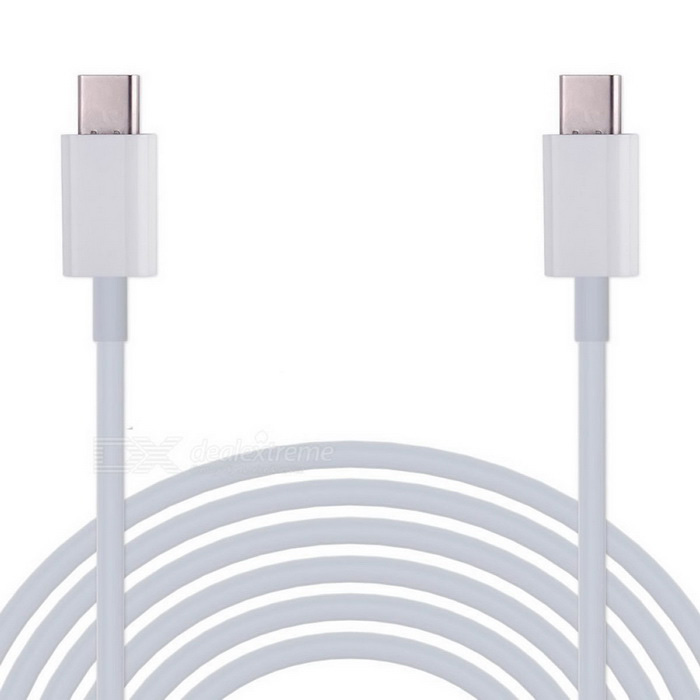 Cwxuan USB 3.1 Type-C Male to Male Data Charging Cable - White (180cm)Laptop/Tablet Cable&amp;Adapters<br>Form ColorWhiteQuantity1 DX.PCM.Model.AttributeModel.UnitShade Of ColorWhiteMaterialPVC + plasticInterfaceOthers,USB 3.1type-cTypeOthers,Laptop / PCCompatible BrandAPPLECompatible ModelComputer with USB 3.1type-c interfaceTransmission Rate10 DX.PCM.Model.AttributeModel.UnitPacking List1 x Cable (180+/-2cm)<br>