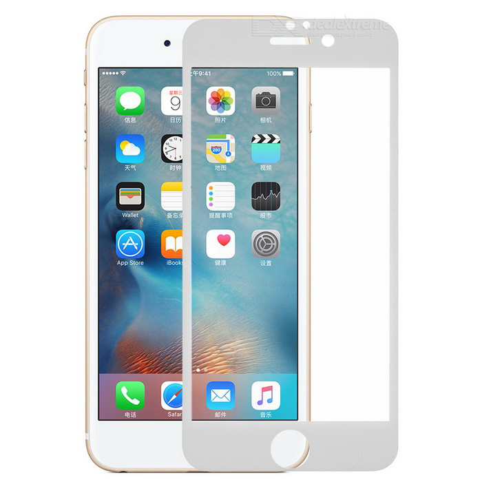 S-What Anti-Blue Ray Clear Film pour IPHONE 6 PLUS / 6S PLUS - Blanc