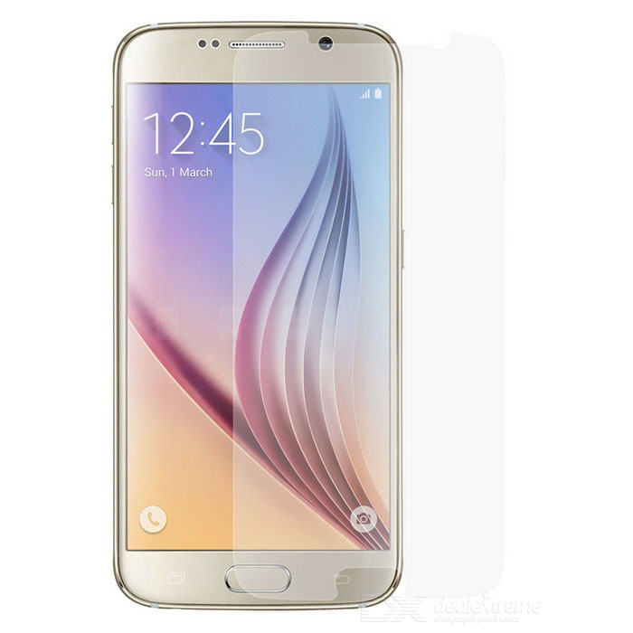 0.3mm Clear Tempered Glass Film for Samsung Galaxy S6 - Transparent