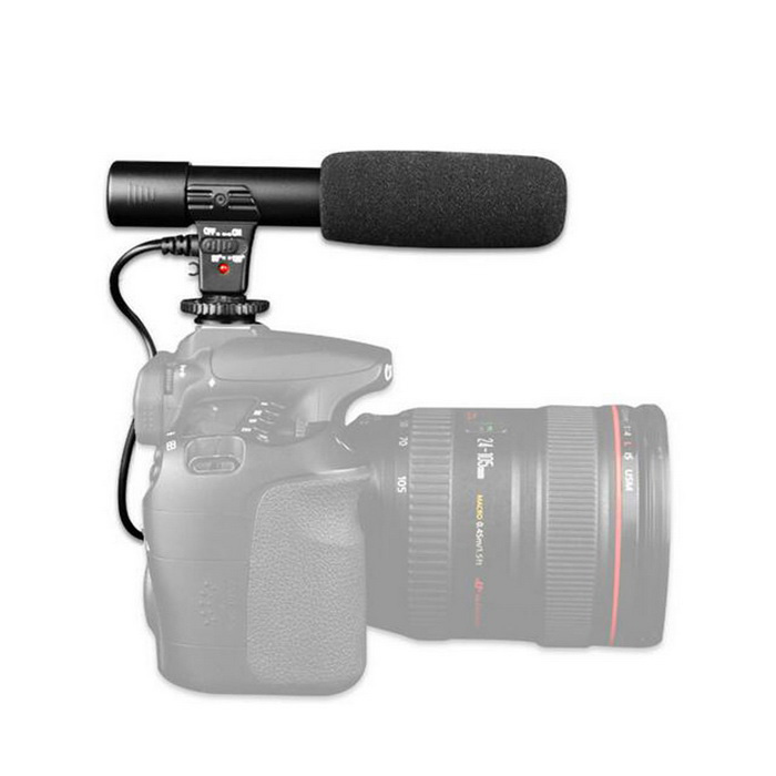3.5mm Digital Video Shotgun Recording Mic for CANON NIKON PENTAX