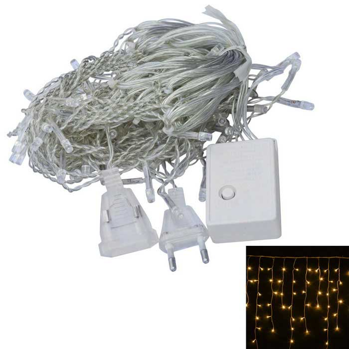 JIAWEN 4W 100-LED 8-Mode warmes weißes Licht christmas string Licht (3m)