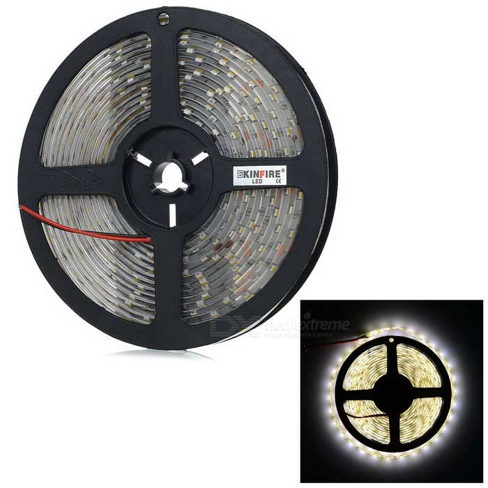 KINFIRE Waterproof 72W 300-SMD 5630 LED Warm White/Cold white  Light Strip (5m)