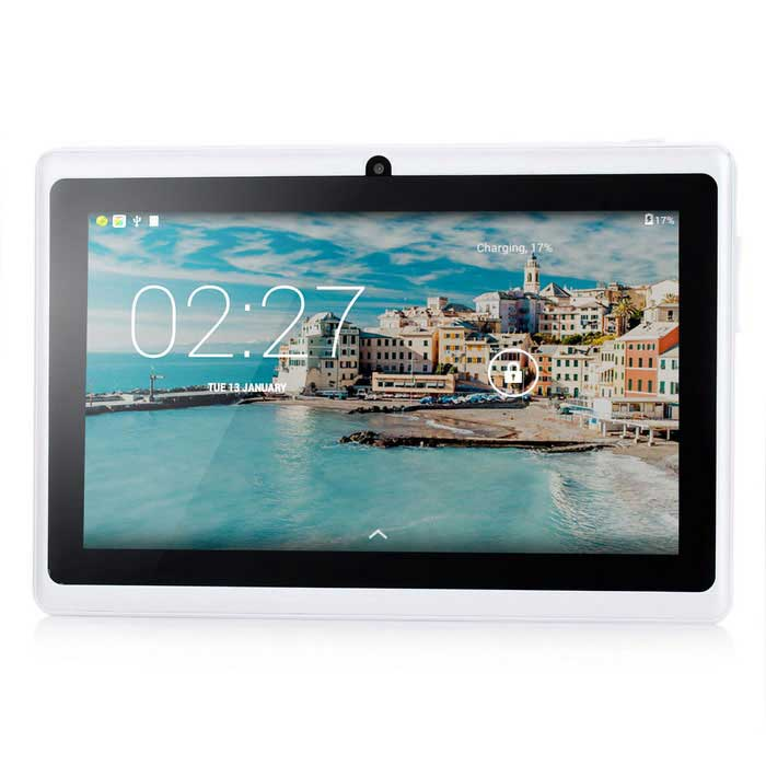 MAIKOU Q88H 7quot Tablet PC w/ 512MB RAM, 8GB ROM - White (US Plug)