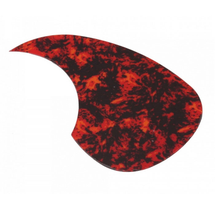 A025I Acoustic Celluloid Guitar Pickguard - Red