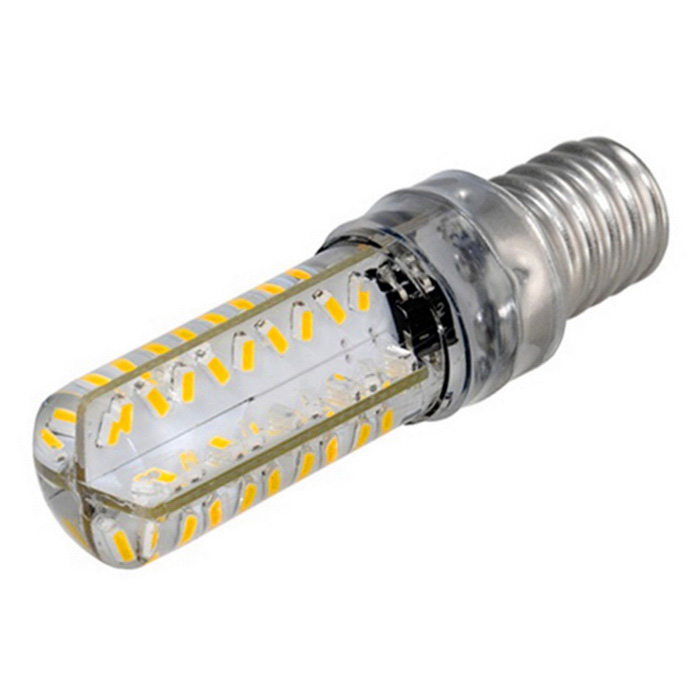 E14 5W Dimmable 72-SMD 3000K Warm White LED Corn Bulb (220-240V )