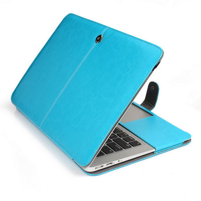 Protective PU Leather Case for MACBOOK AIR 13.3 - BlueNetbook&amp;Laptop Cases<br>Form ColorBlueModelASL-128Quantity1 DX.PCM.Model.AttributeModel.UnitShade Of ColorBlueMaterialPUCompatible ModelMacBook Air 13.3Compatible BrandAPPLETypeFull Body CasesStyleBusiness,Casual,FashionCompatible Size13.3 inchPacking List1 x Protective case<br>