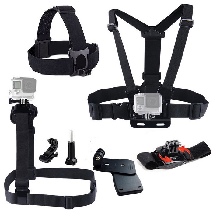 7-in-1-Accessories-Kit-for-GoPro-Hero-4-Session-4-32b-3-2-1-Black