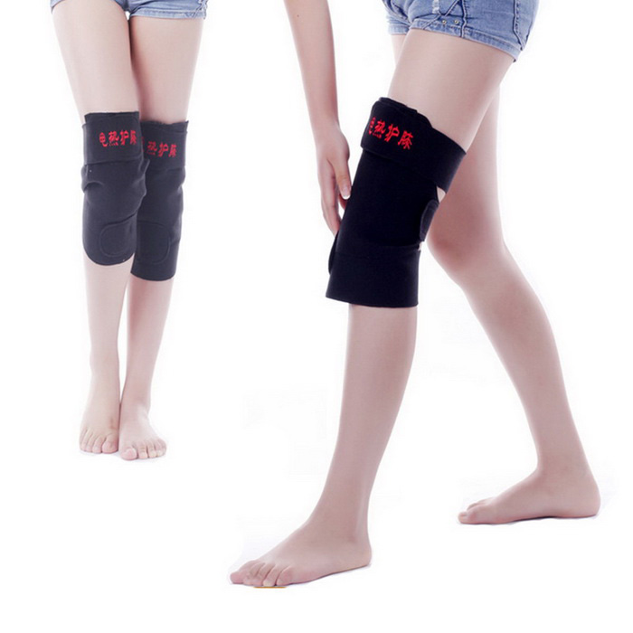 Buy 5V USB Heating Kneejoint Care Warm Kneepad - Black with Litecoins with Free Shipping on Gipsybee.com
