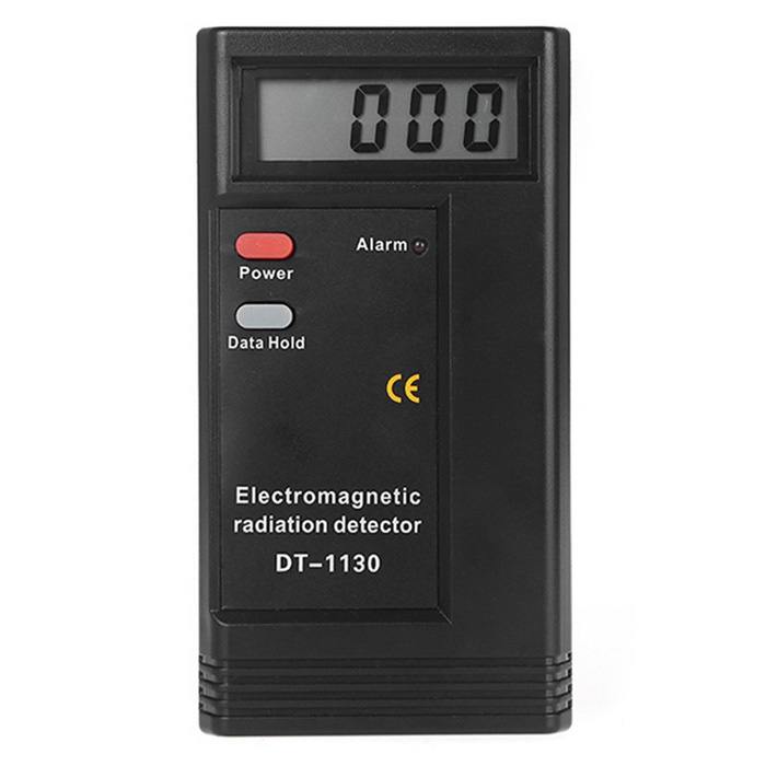Buy Electromagnetic Radiation Detector EMF Meter Tester Equipment - Black with Litecoins with Free Shipping on Gipsybee.com