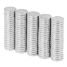 12 * 2mm petite taille ronde forte ndfeb aimants - argent (100PCS)