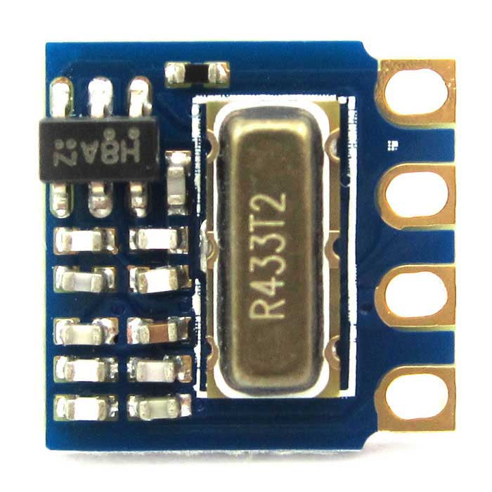 433MHz RF Transmitter Wireless Module for Arduino - Blue + Yellow