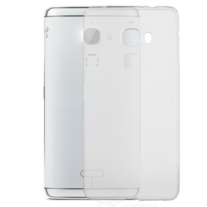 Buy Silicone Back Case + Screen Film Set for LeTV MAX X900 - Transparent with Litecoins with Free Shipping on Gipsybee.com