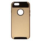 Protective Plastic Back Case for IPHONE 6S PLUS - Golden + Black