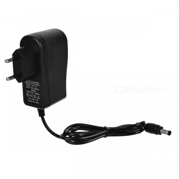 5V 1A AC Power Adapter for Scanner / Camera + More - Black (EU Plug)