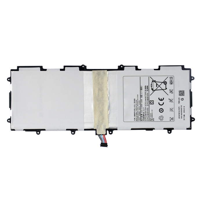 Buy 6500mAh Battery Panel for Samsung Galaxy Tab 10.1 P5100 + More - White with Litecoins with Free Shipping on Gipsybee.com