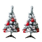 60cm-Flocking-Snowflake-Christmas-Trees-2b-Tripods-2b-Boots-Set-White