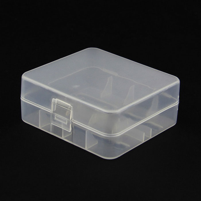 Plastic Battery Storage Case Box for 26650 - Translucent WhiteStorage Supplies<br>Form  ColorTranslucent WhiteQuantity1 DX.PCM.Model.AttributeModel.UnitMaterialPlasticInner Size7 x 6.4 x 2.6 DX.PCM.Model.AttributeModel.UnitOther Features26650 batteries are not included.Packing List1 x Plastic case<br>