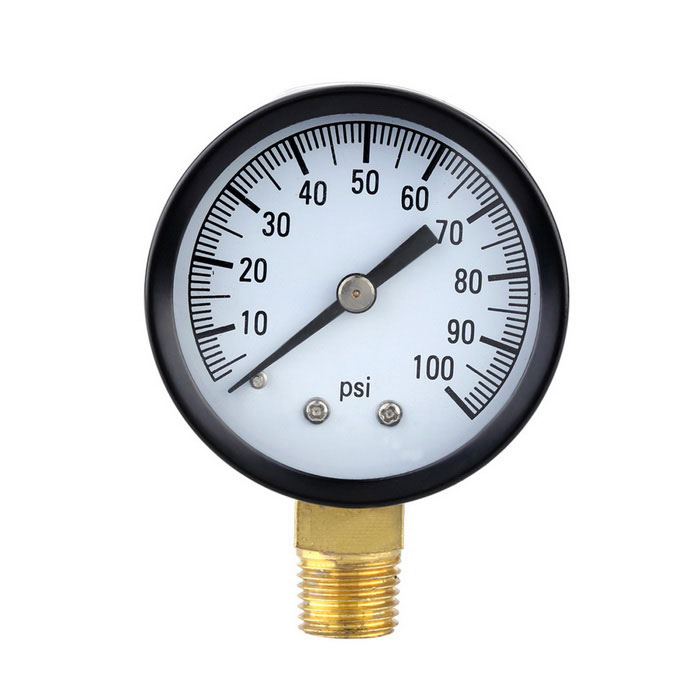 Dx coupon: 0-100psi Mini Dial Air Pressure Gauge Meter Piezometer Single Scale